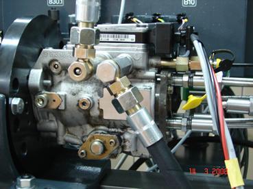 Regulacja pompy wtryskowej VP na maszynie EPS 815