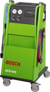 Urządzenie do napełniania i odgrzybiania klimatyzacji firmy Bosch